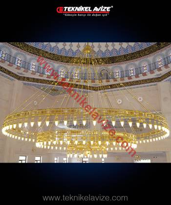 Fir Model Mosque Chandeliers - Teknikel Chandelier