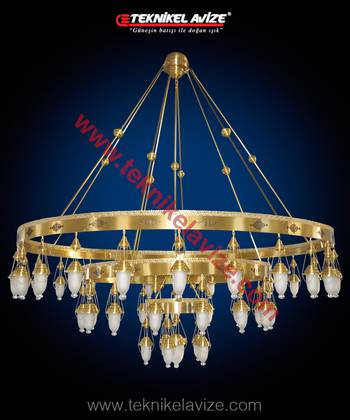Willow Model Mosque Chandeliers - Teknikel Chandelier